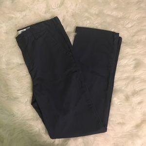 Old Navy straight navy blue dress pants